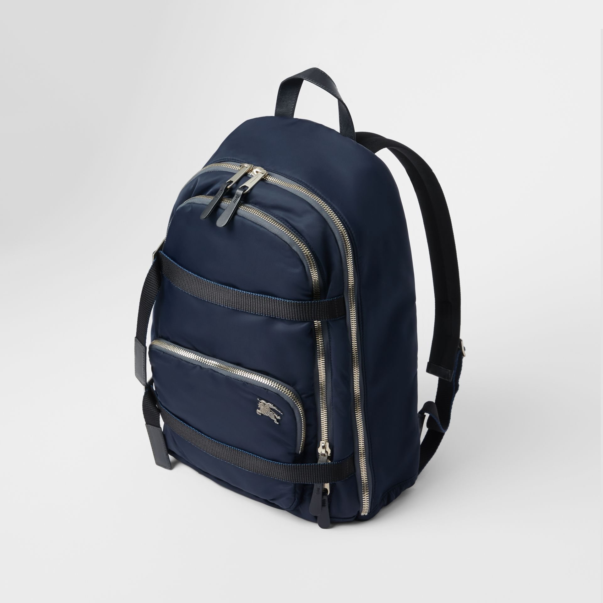 Large EKD Aviator Nylon Backpack in Ink Blue - Men | Burberry United States - gallery image 3
