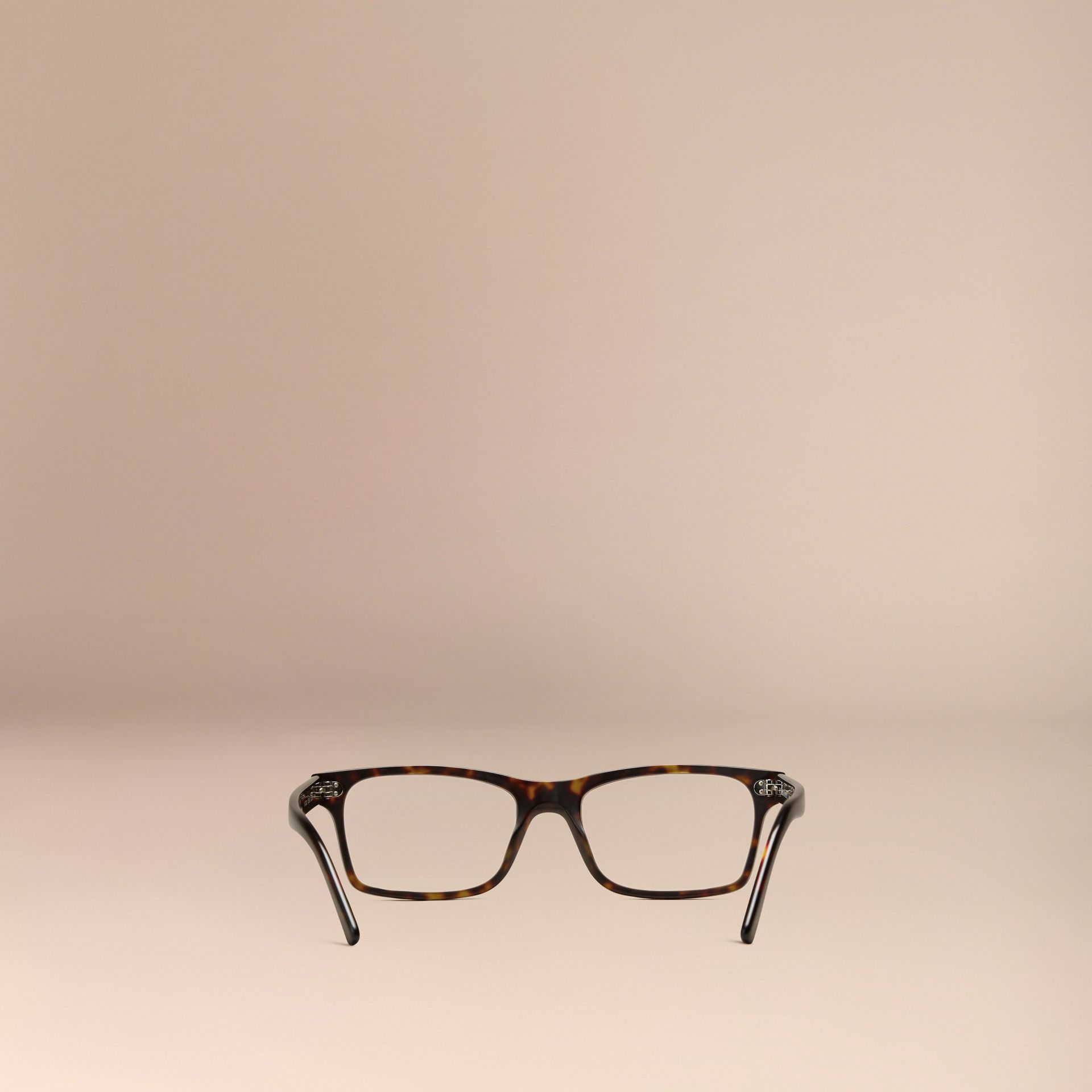 Rectangular Optical Frames in Brown - gallery image 3