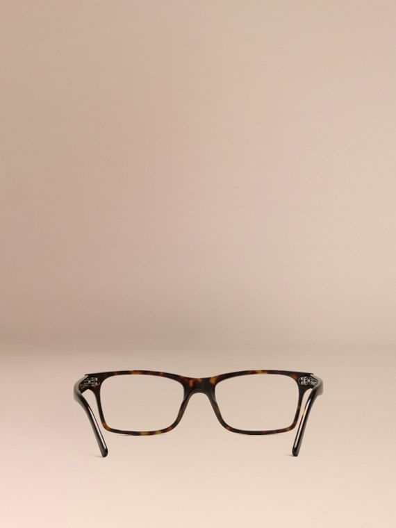 Brown Rectangular Optical Frames Brown - cell image 2
