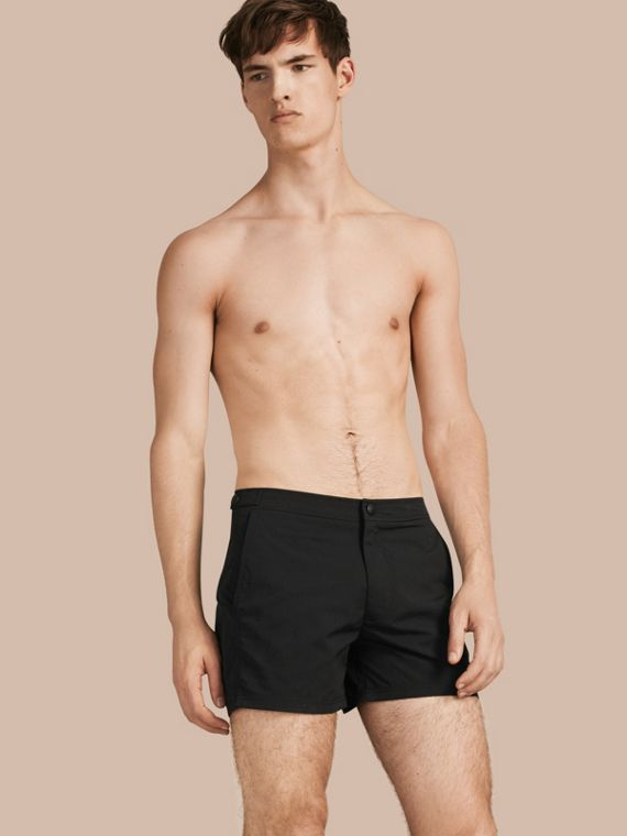 Tailored Swim Shorts Black
