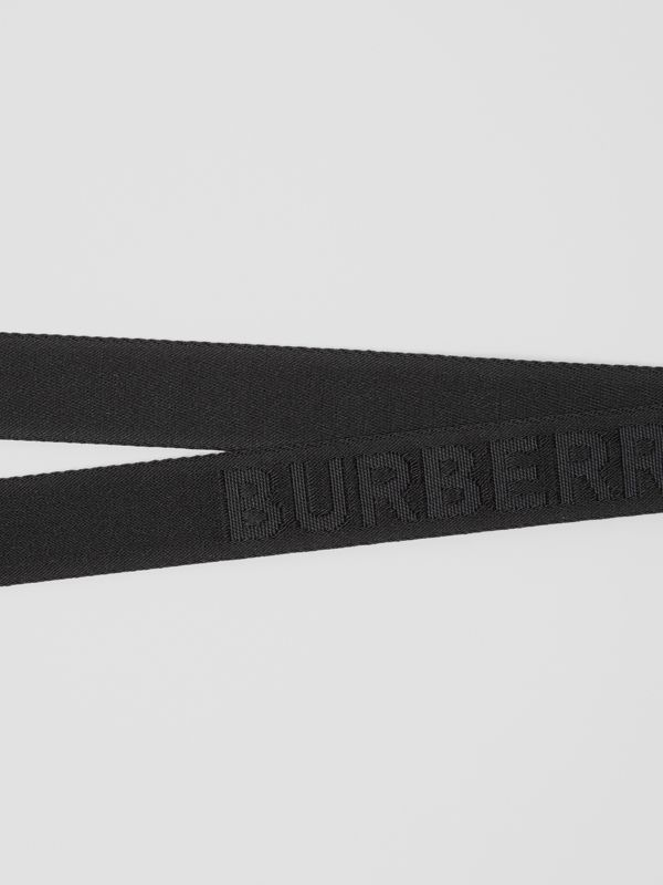 Logo Detail Lanyard in Black - Men | Burberry United Kingdom - cell image 2