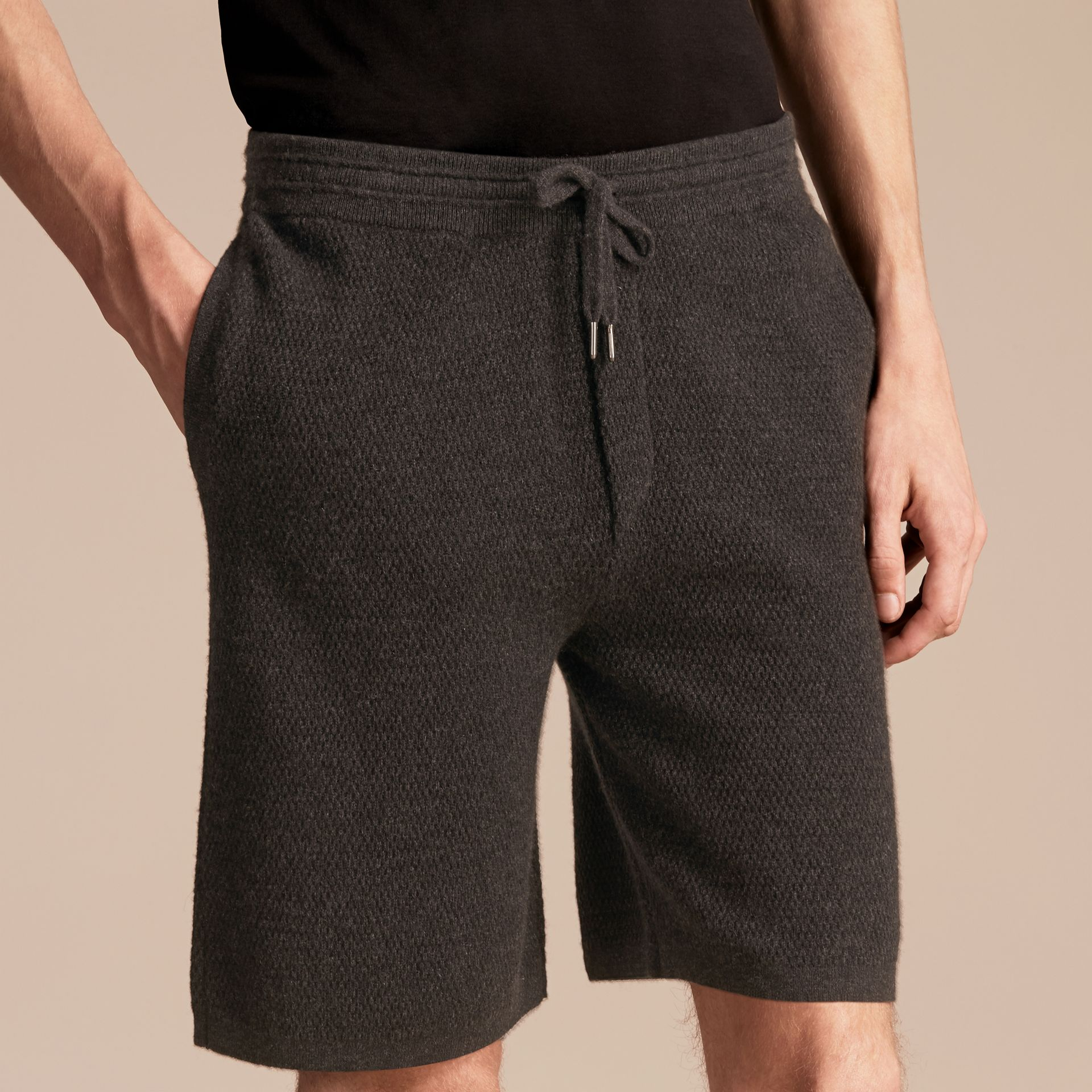 Knitted Cashmere Shorts - gallery image 3