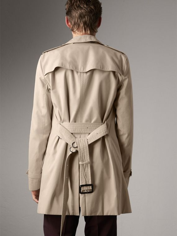 The Kensington – Mid-Length Heritage Trench Coat in Stone - Men | Burberry Canada - cell image 2