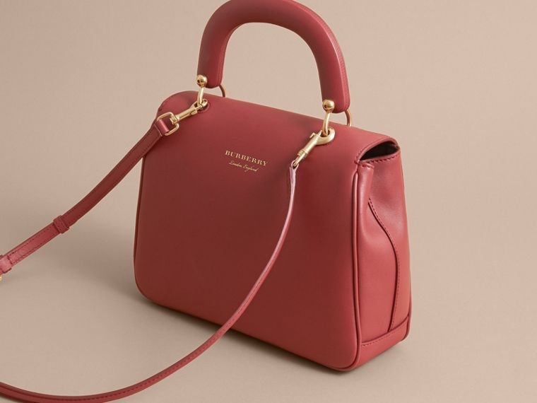 The Medium DK88 Top Handle Bag in Antique Red - Women | Burberry - cell image 4