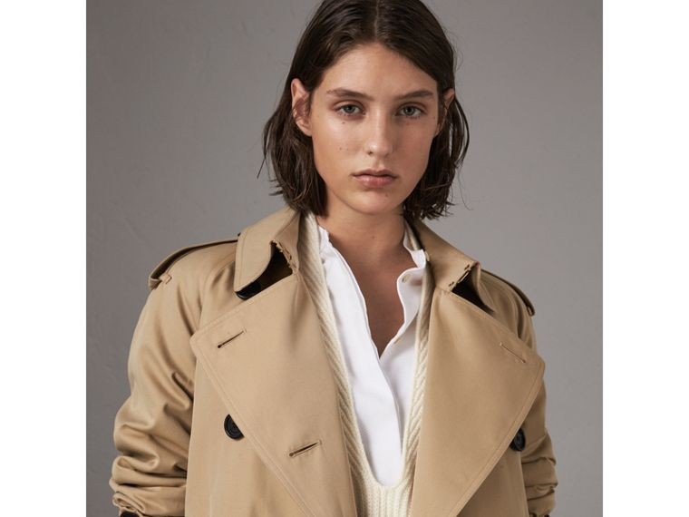 The Westminster – Extralanger Trenchcoat (Honiggelb) - Damen | Burberry - cell image 4