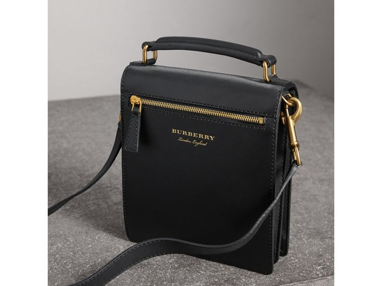 The Small DK88 Satchel in Black - Men | Burberry United States - cell image 4