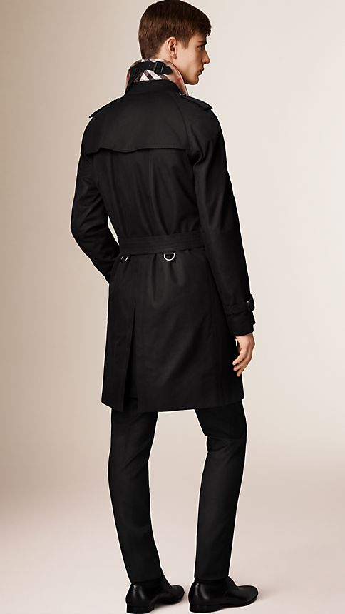Honey The Wiltshire - Long Heritage Trench Coat - Image 2