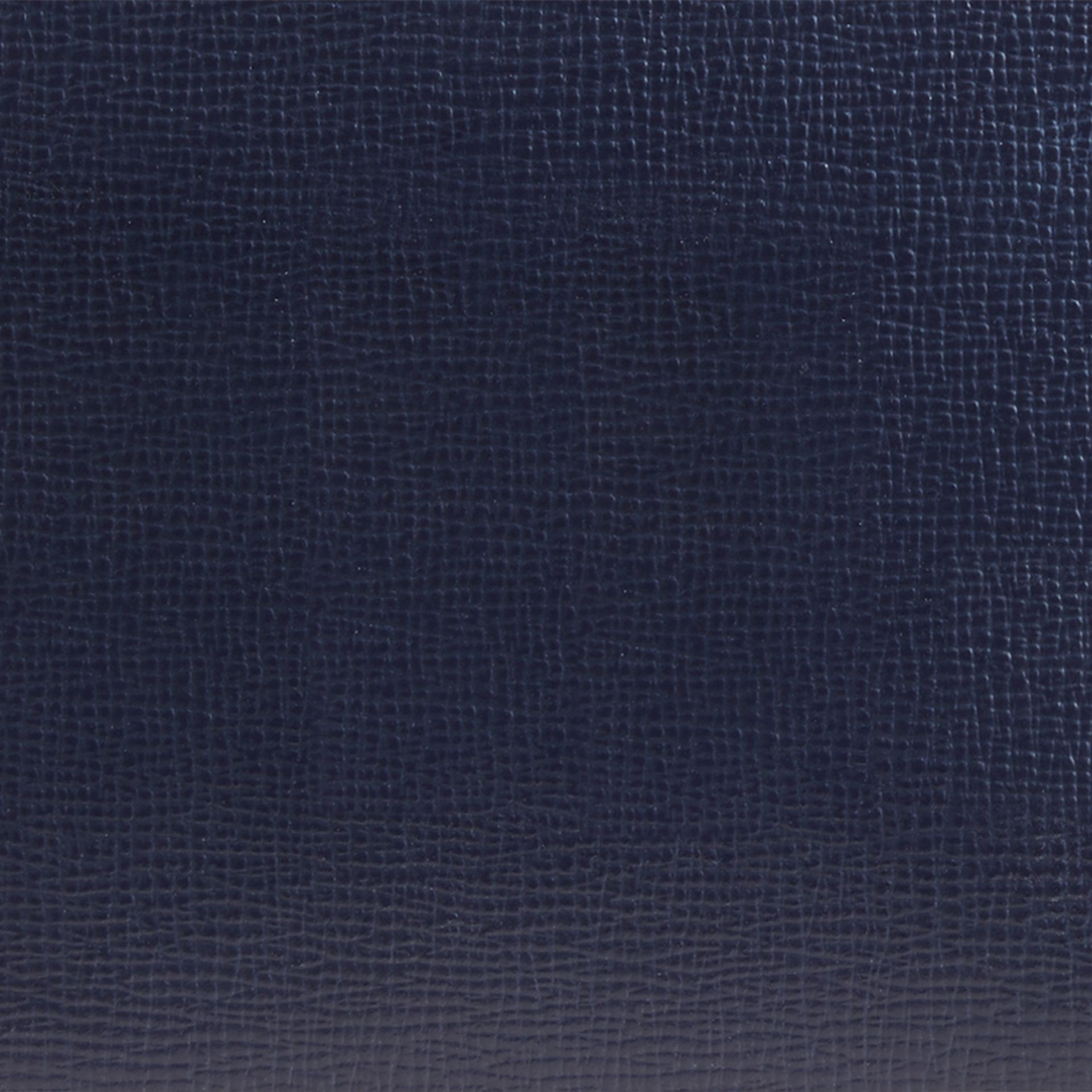 Dark navy London Leather ID Wallet Dark Navy - gallery image 2