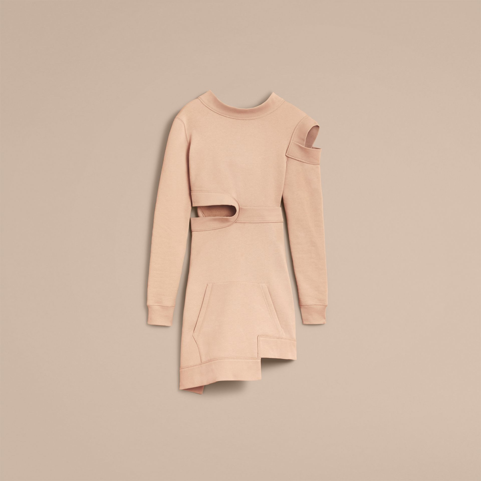 Cut-out Sweatshirt Dress - Women | Burberry - gallery image 4
