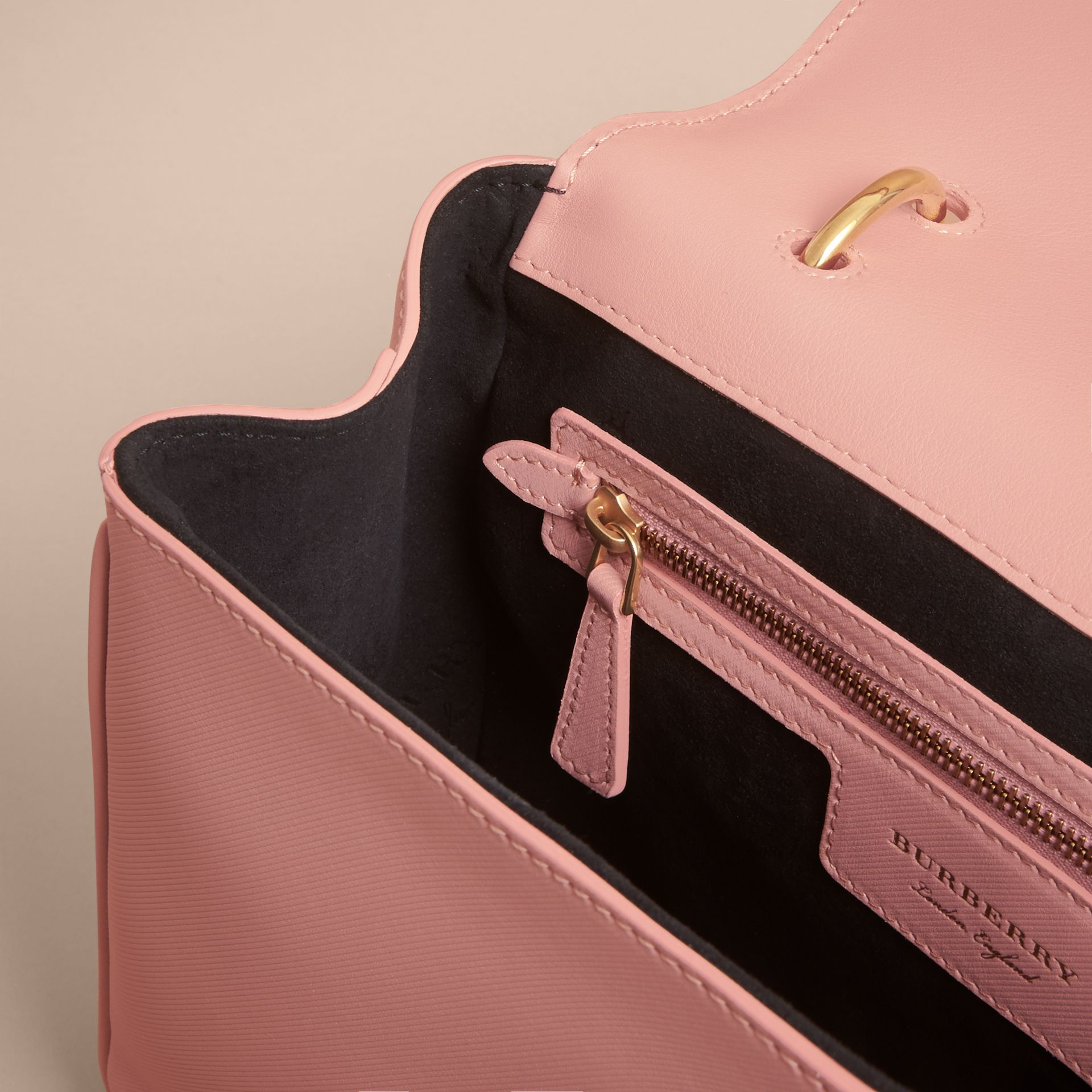 The Medium DK88 Top Handle Bag in Ash Rose - Women | Burberry - gallery image 6