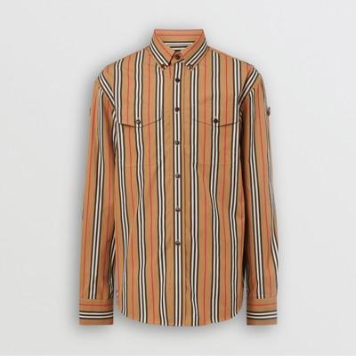 Motivo AnticoUomo In Iconico A Righegiallo Camicia Con Cotone rxBsohQCdt