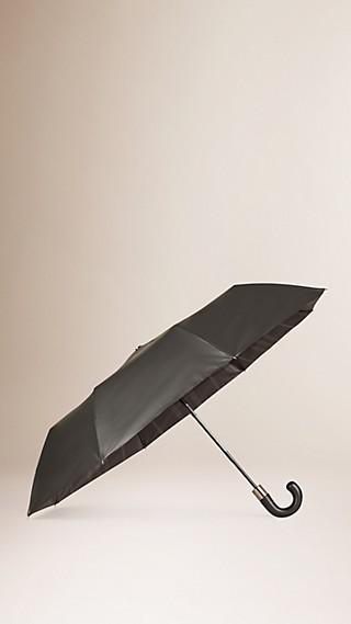 Parapluie télescopique doublé du motif check