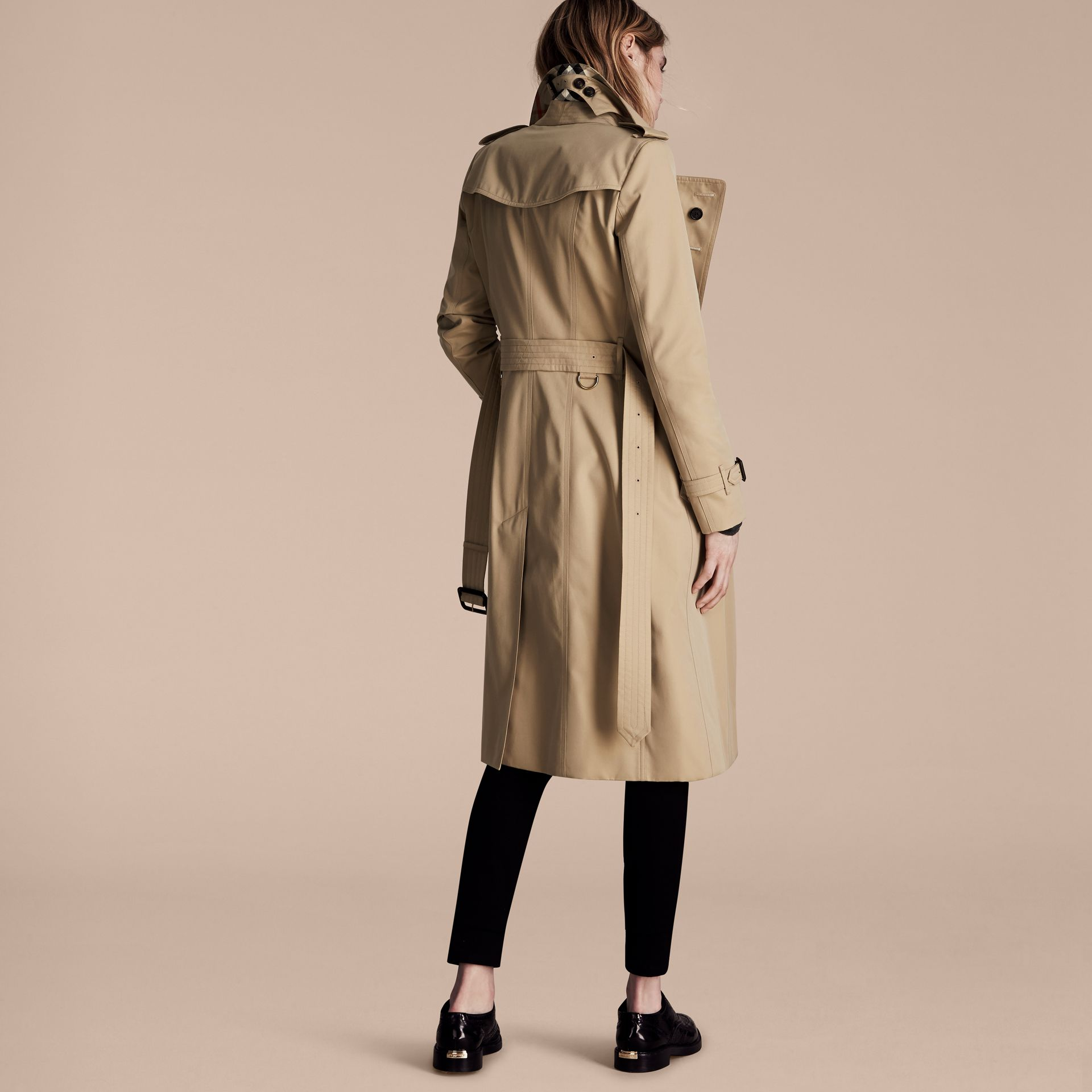 Honey The Chelsea – Extra-long Heritage Trench Coat Honey - gallery image 3