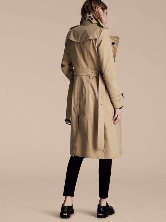 Honey The Chelsea – Extra-long Heritage Trench Coat Honey - cell image 2