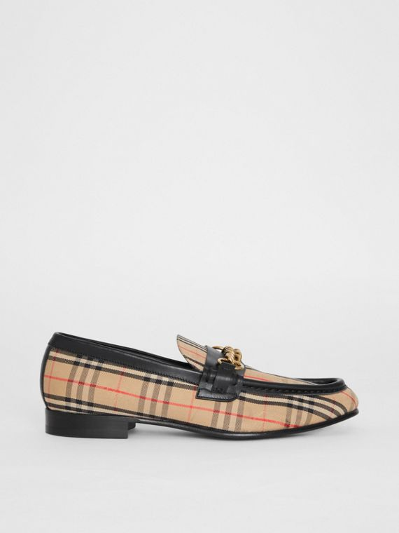 The 1983 Check Link Loafer in Black