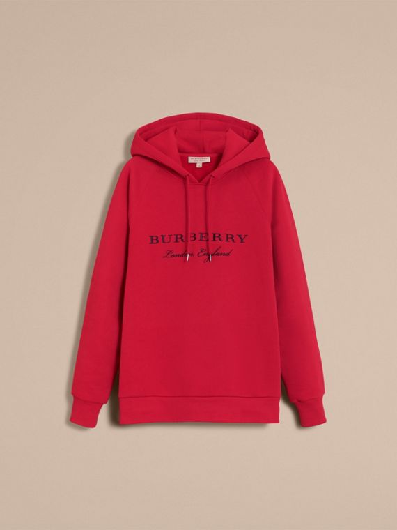 Embroidered Hooded Sweatshirt Parade - cell image 3
