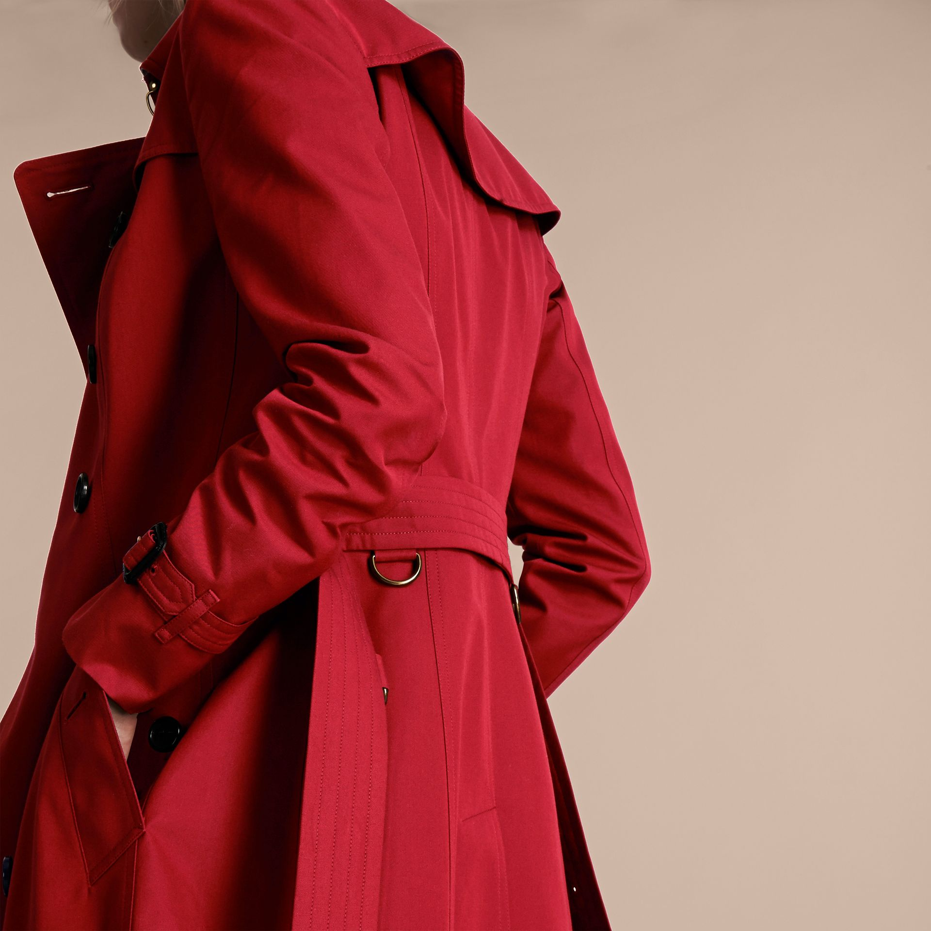 Rouge parade Trench-coat Heritage long The Chelsea Rouge Parade - photo de la galerie 7