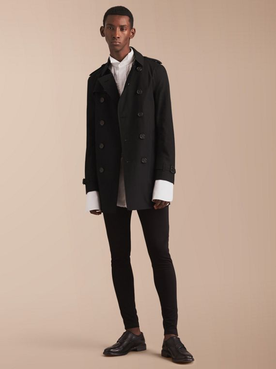 The Chelsea - Trench coat Heritage medio (Nero)