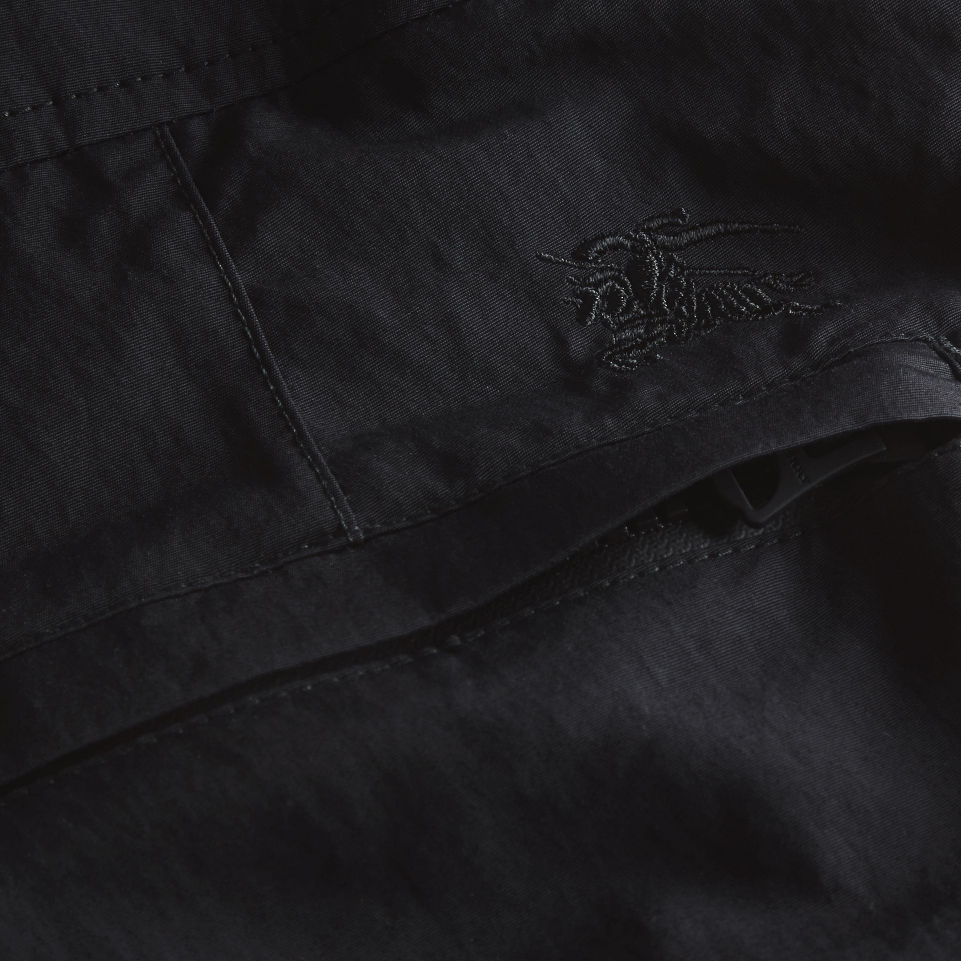 Tailored Swim Shorts in Black - Men | Burberry - gallery image 2