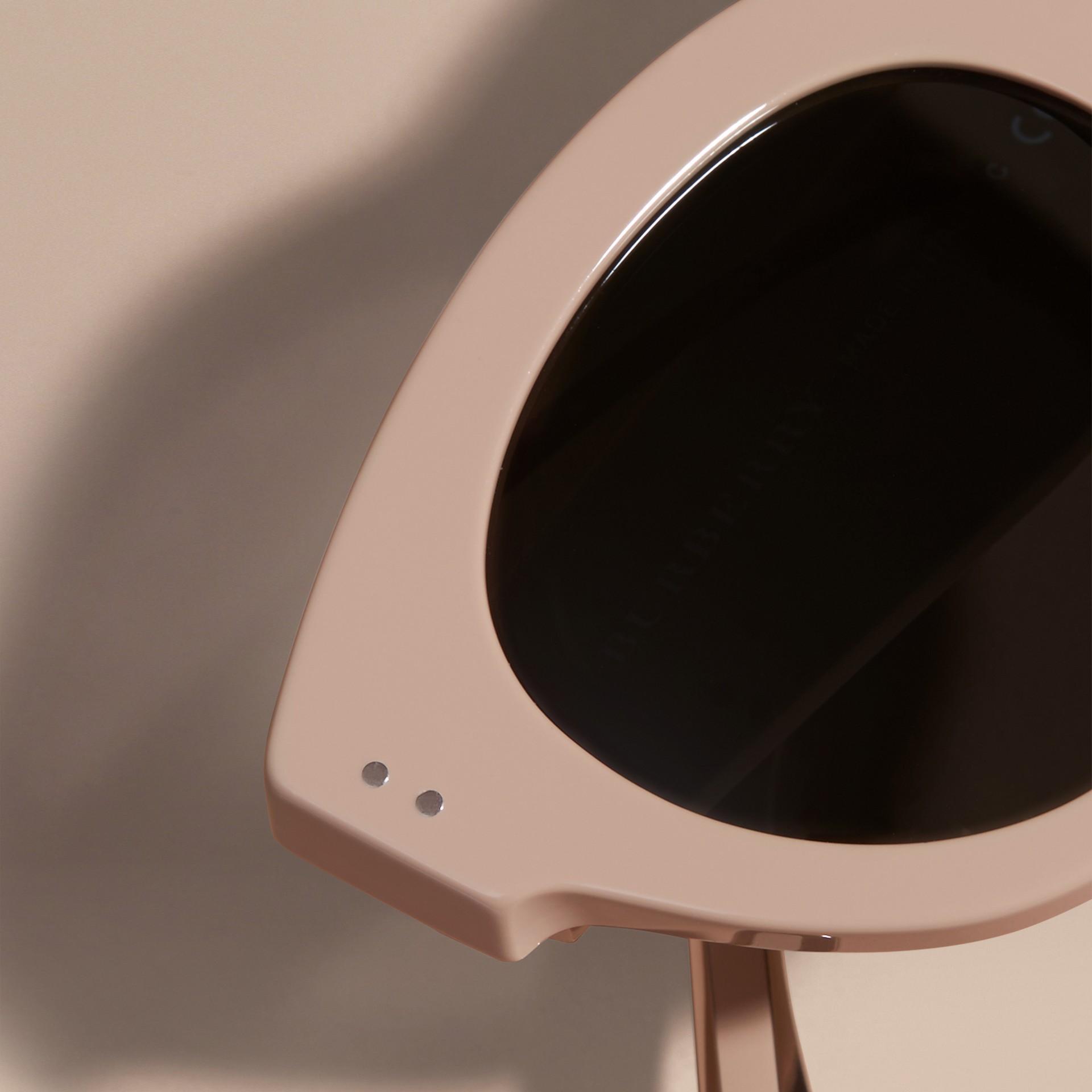 Nude Cat-eye Sunglasses Nude - gallery image 2