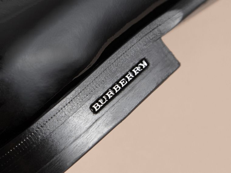 Tasselled Patent Leather Loafers in Black - Men | Burberry Hong Kong - cell image 1