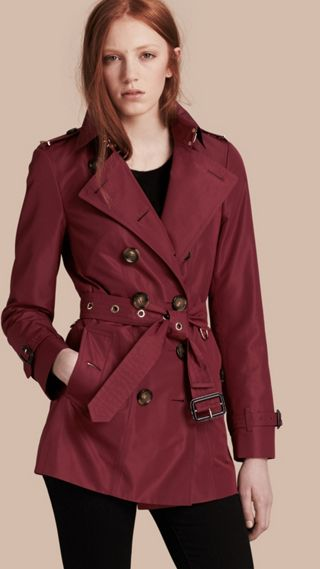 Trench-coat slim imperméable