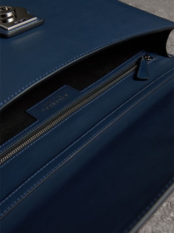 The Large DK88 Document Case in Ink Blue - Men | Burberry - cell image 3