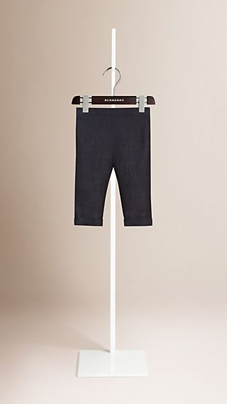 Linen Turn-up Trousers