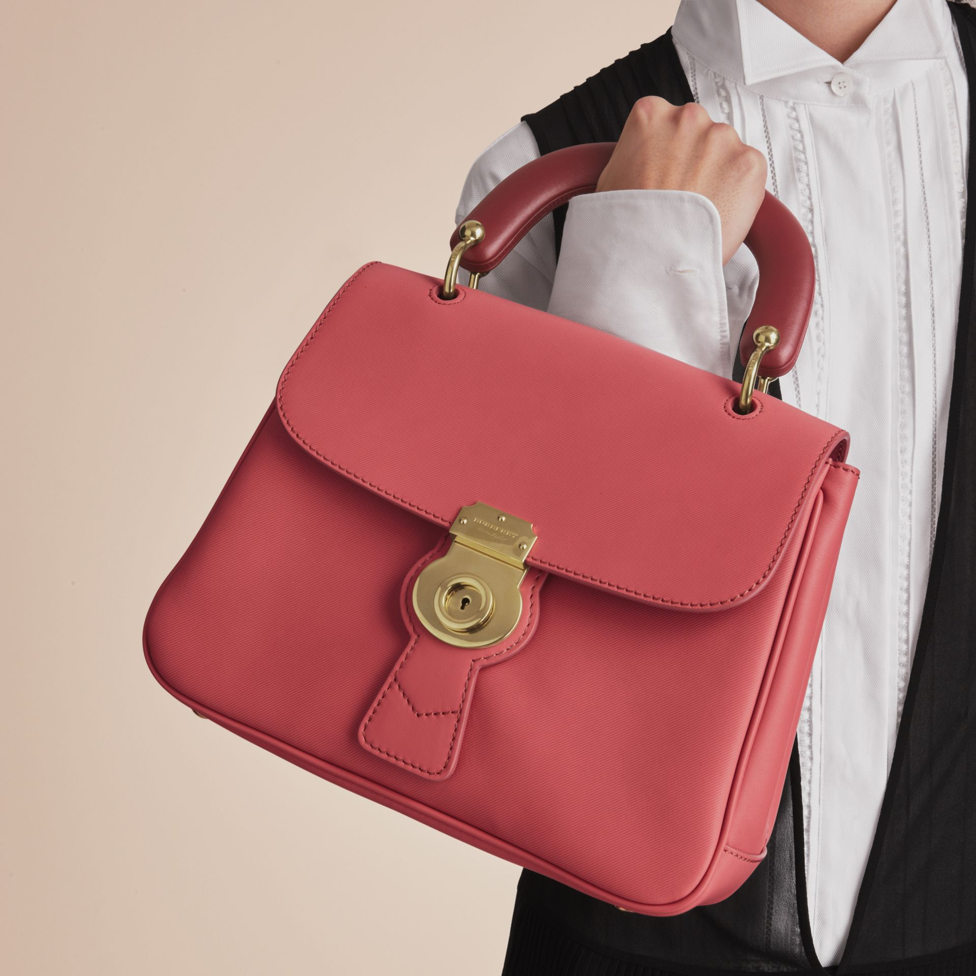 The Medium DK88 Top Handle Bag Blossom Pink - gallery image 3