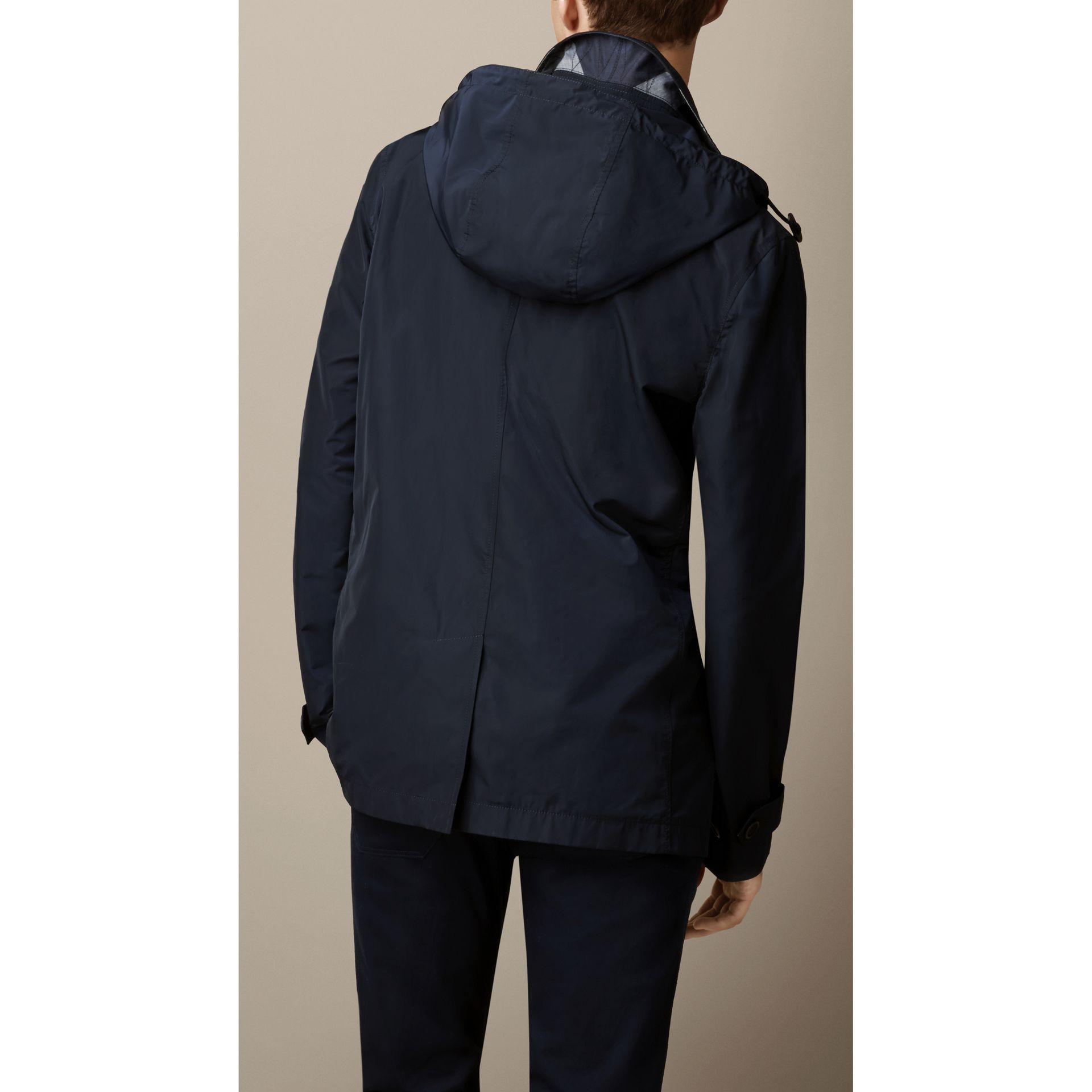 Technical Fabric Detachable Hood Jacket - Men | Burberry - gallery image 2