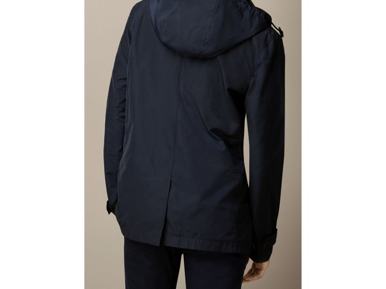Technical Fabric Detachable Hood Jacket - Men | Burberry - cell image 1