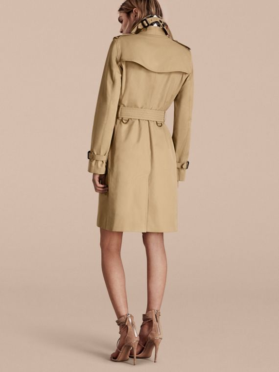 Honey The Kensington – Long Heritage Trench Coat Honey - cell image 2