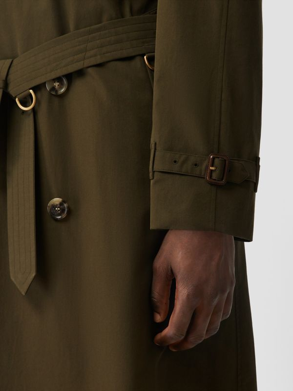 The Westminster Heritage Trench Coat in Dark Military Khaki - Men | Burberry Canada - cell image 3