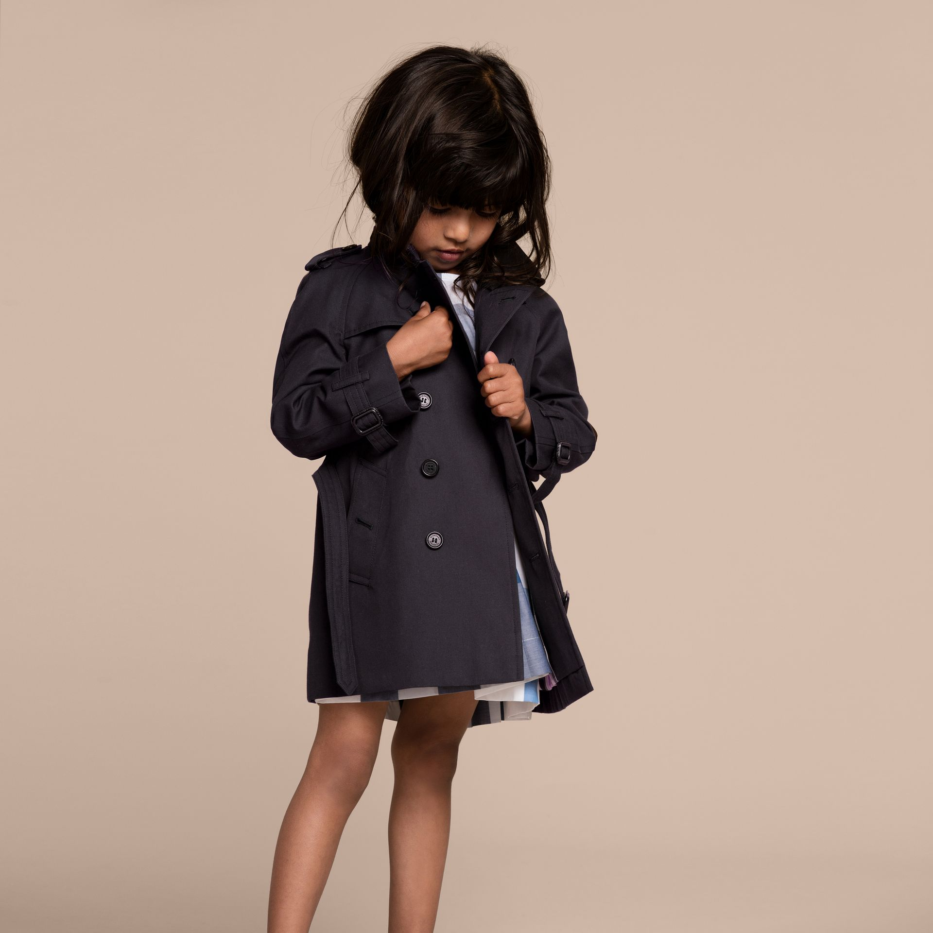 The Wiltshire - Trench coat Heritage (Navy) - immagine della galleria 6