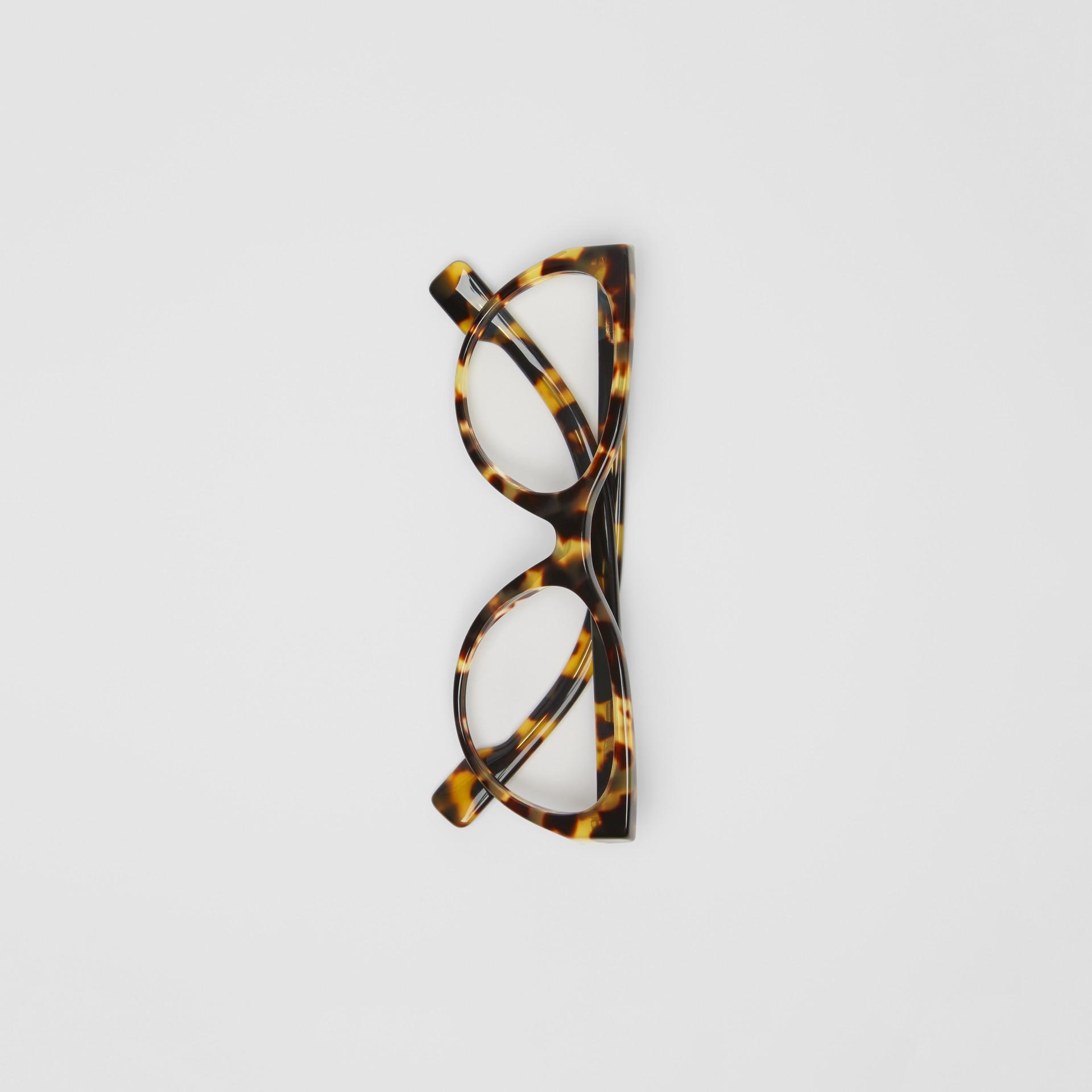 Óculos de grau com armação gatinho (Casco  Tartaruga) - Mulheres | Burberry - galeria de imagens 3