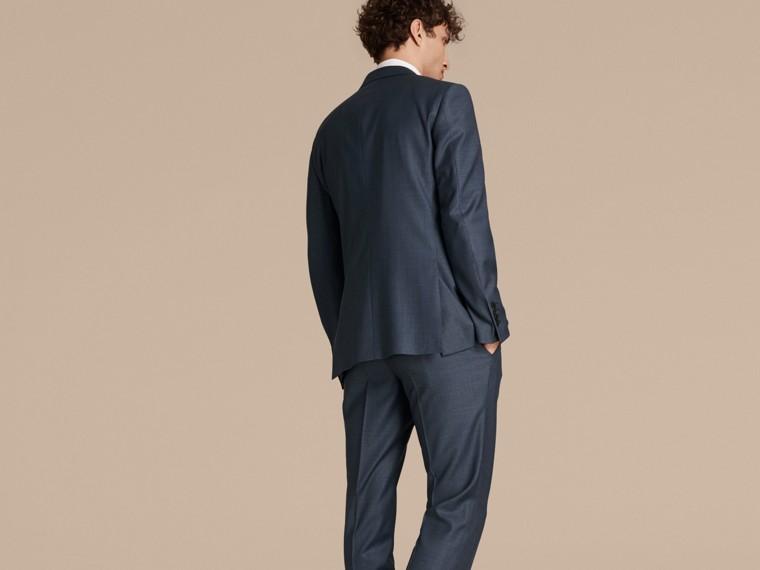 Bleu aérien Costume de coupe moderne en laine Travel Tailoring - cell image 1