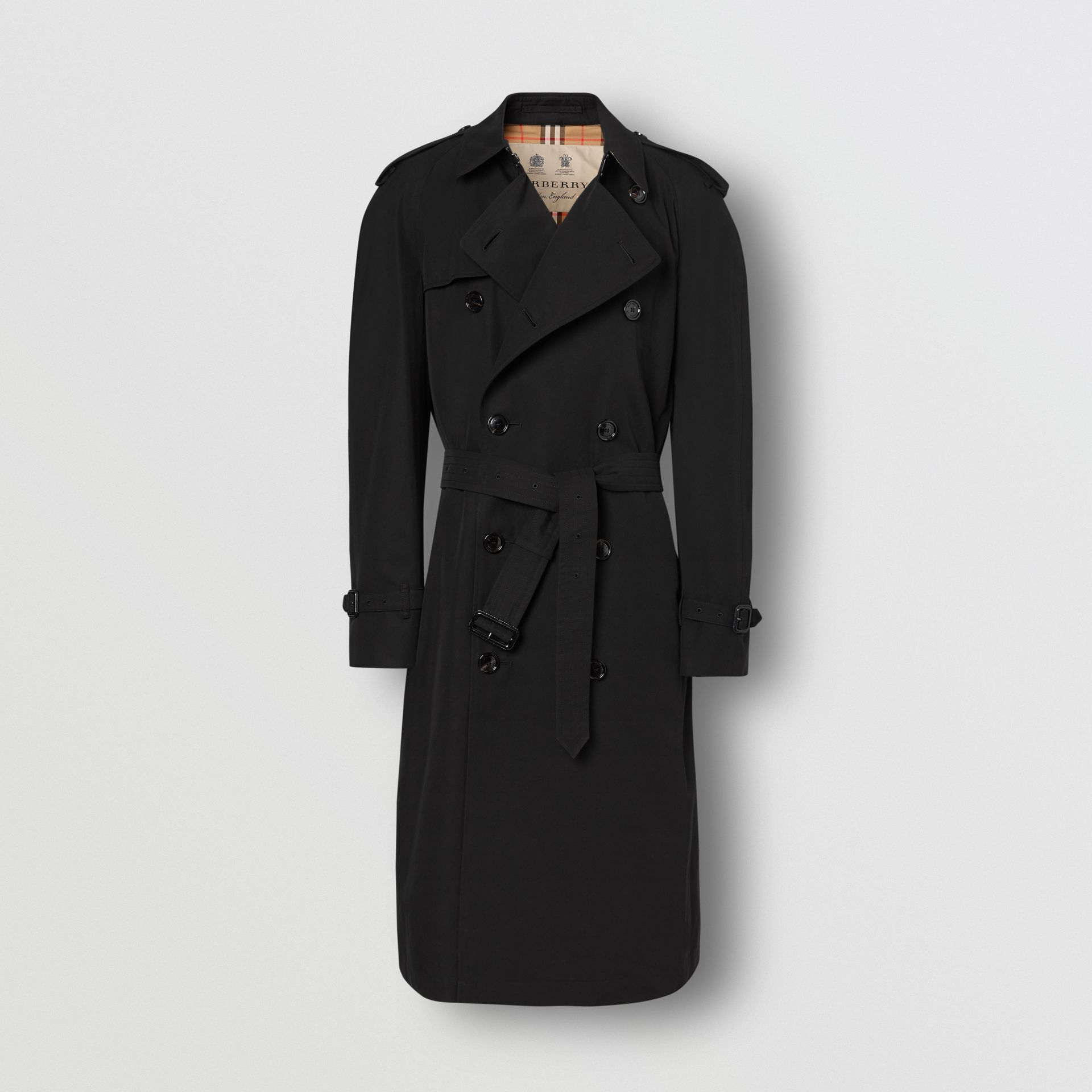 The Westminster Heritage Trench Coat in Black - Men | Burberry United Kingdom - gallery image 3