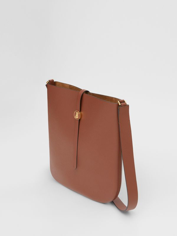 Grainy Leather Anne Bag in Tan - Women | Burberry - cell image 2