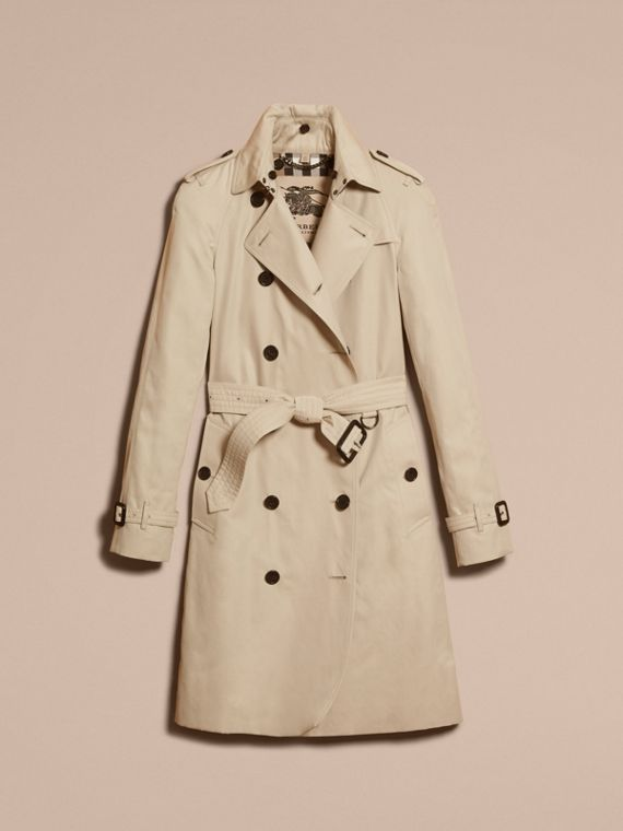 Stone The Westminster – Long Heritage Trench Coat Stone - cell image 3