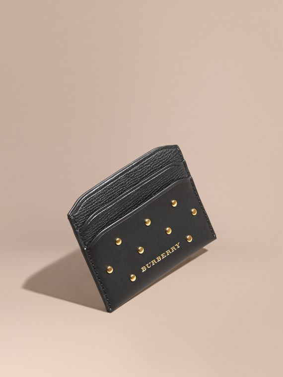 Riveted Leather Card Case
