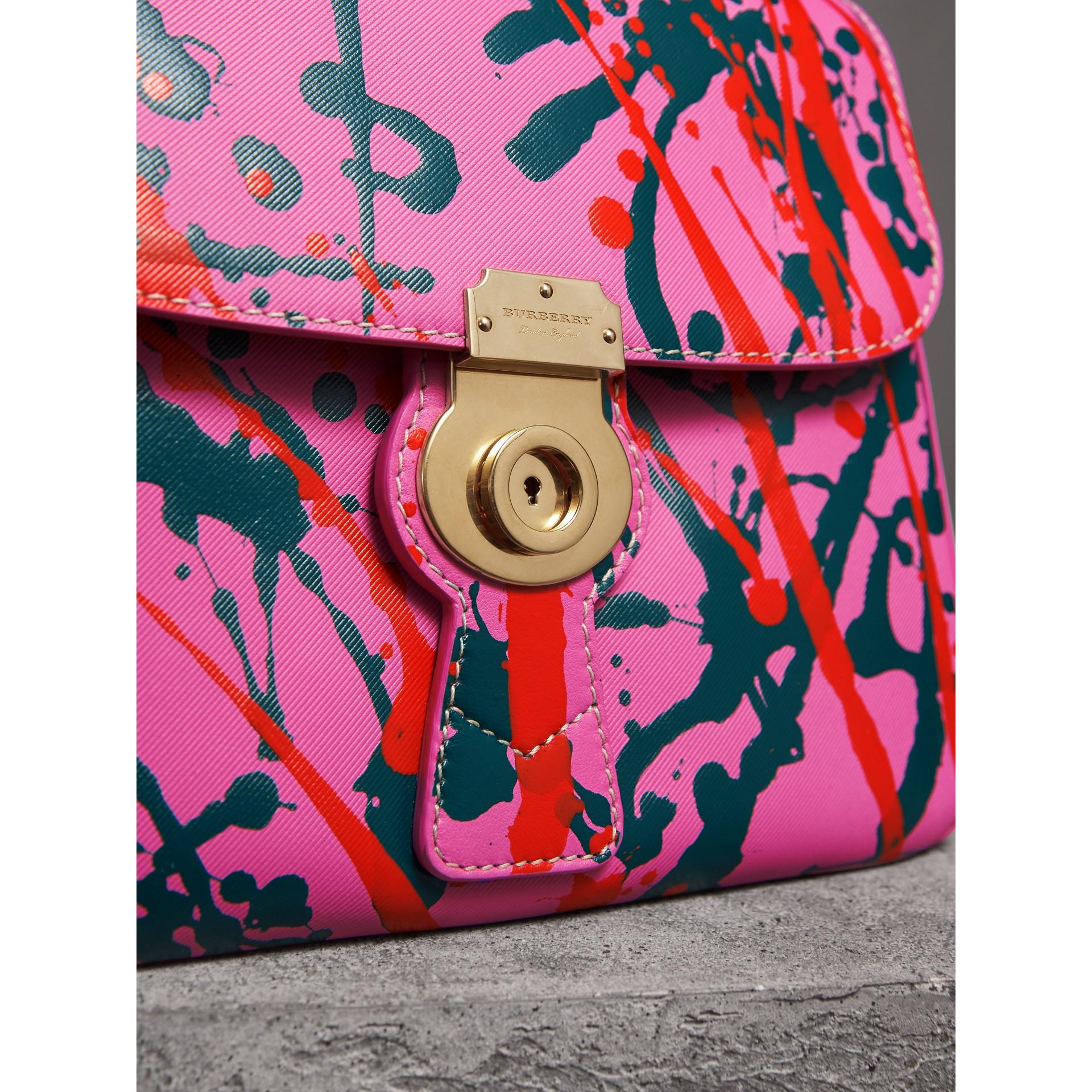 The Medium DK88 Splash Top Handle Bag in Rose Pink - Women | Burberry - gallery image 2