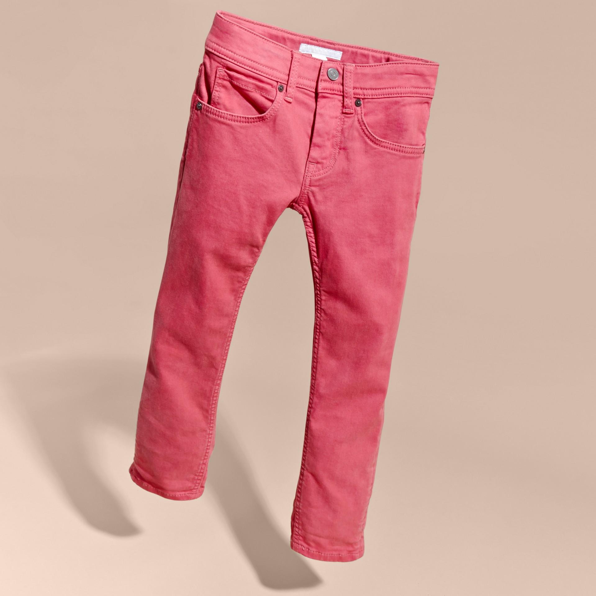 Skinny Fit Jeans Pink Azalea - gallery image 3