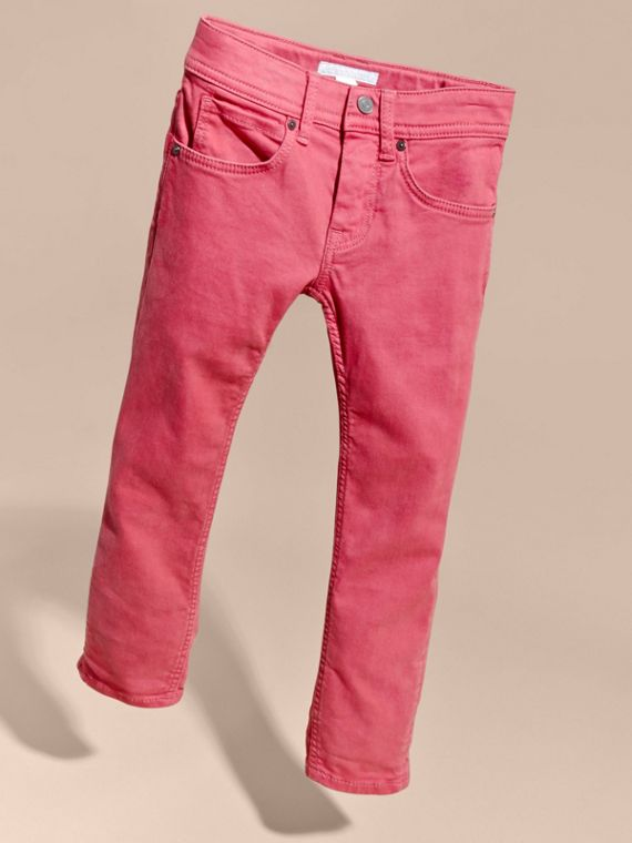 Skinny Fit Jeans in Pink Azalea - cell image 2