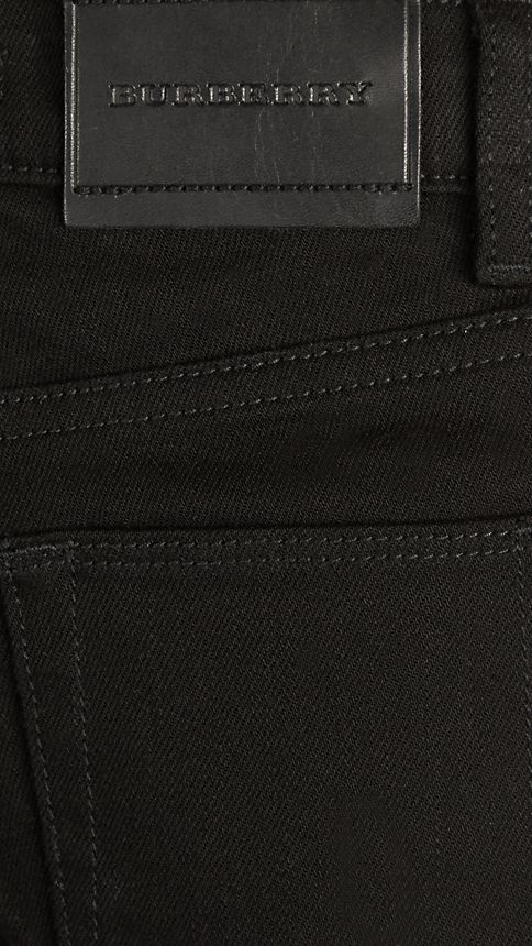 Black Skinny Fit Jeans - Image 3