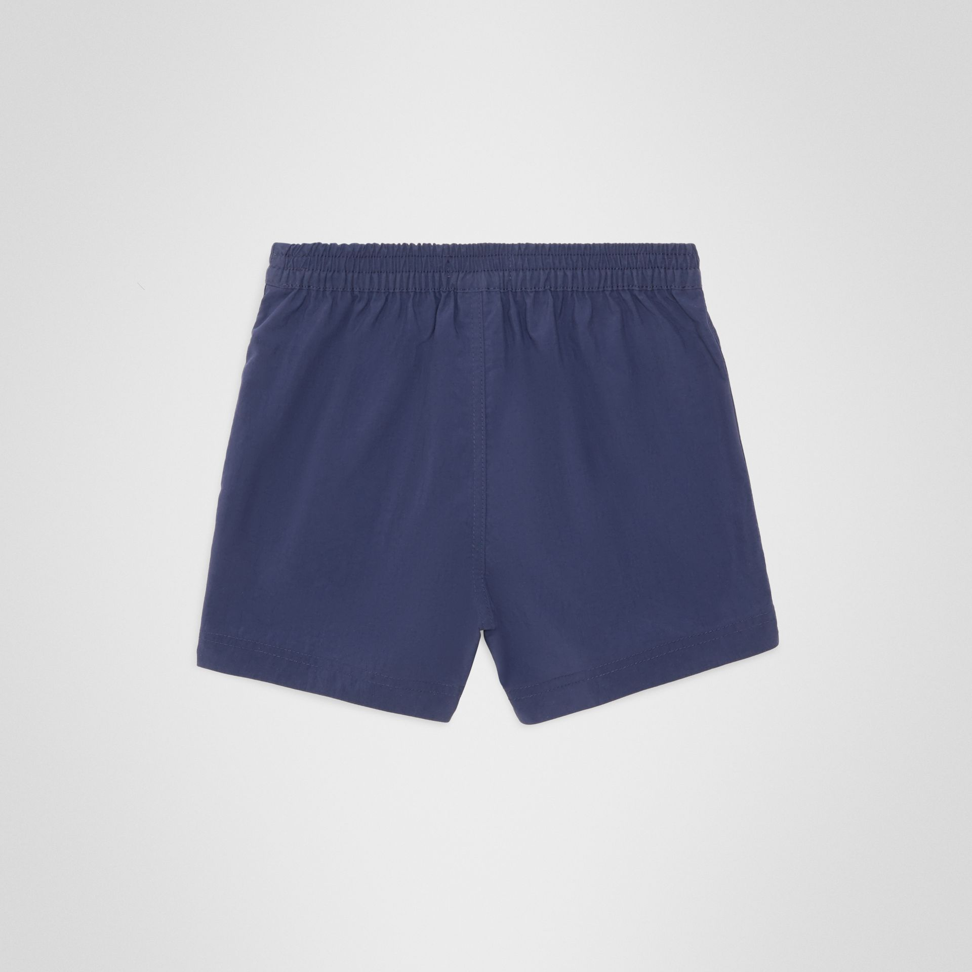 Drawcord Swim Shorts in Indigo - Children | Burberry Australia - gallery image 3