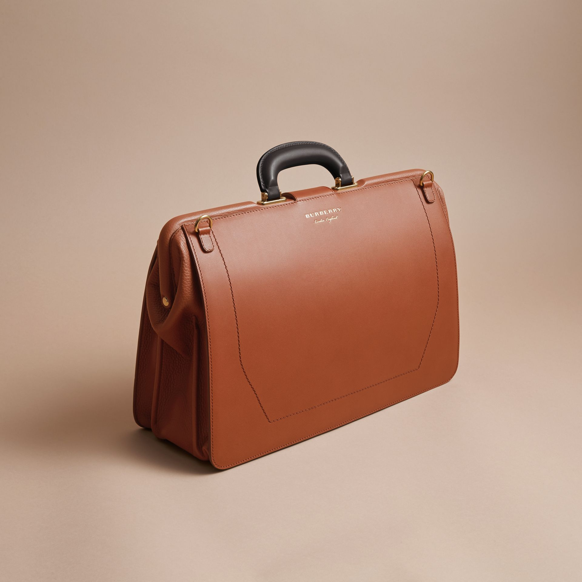 The DK88 Doctor's Bag in Tan - Men | Burberry - gallery image 3