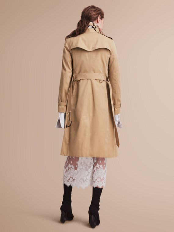 The Kensington – Extra-long Heritage Trench Coat Honey - cell image 2