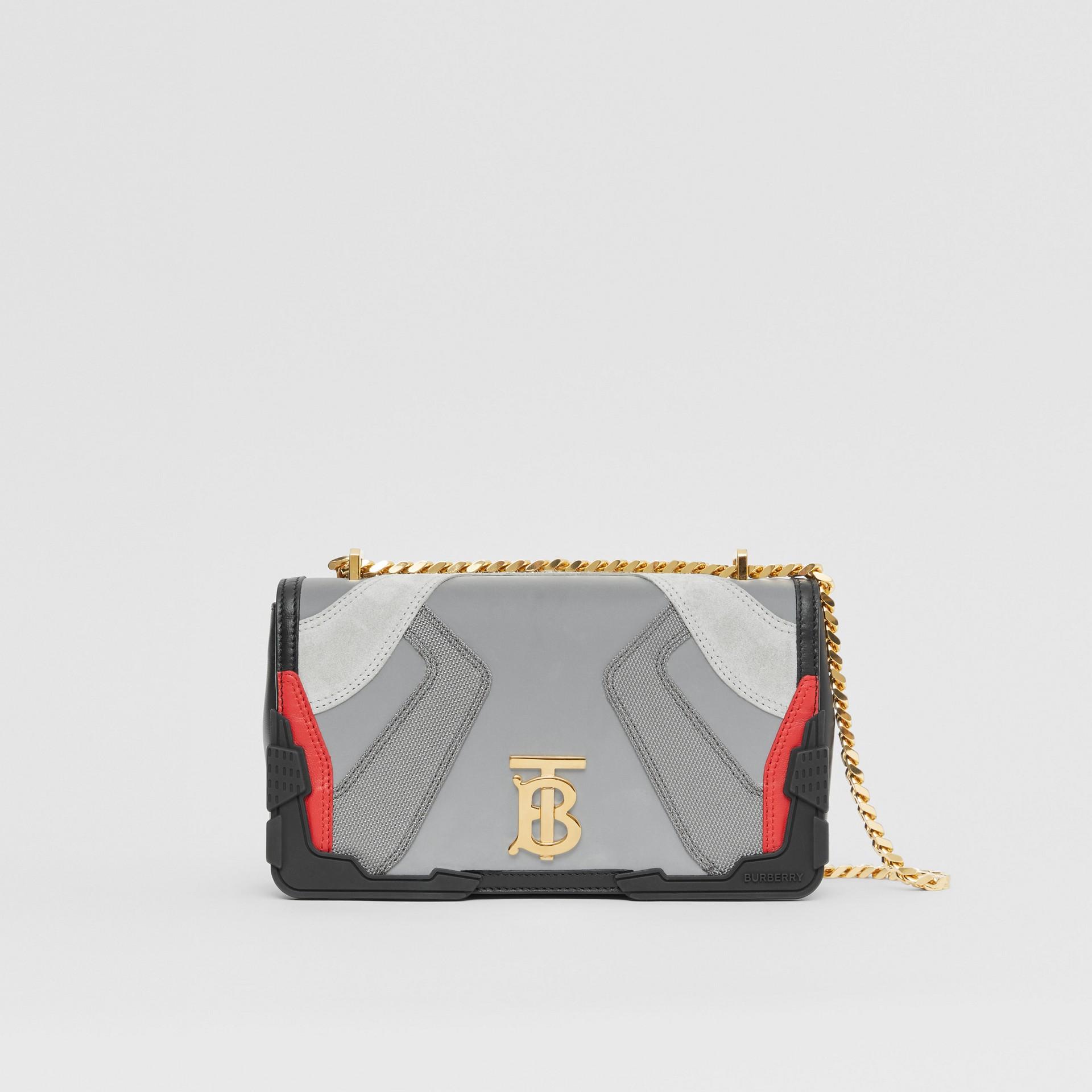 Small Appliqué Leather Lola Bag in Multicolour - Women | Burberry United Kingdom - gallery image 0