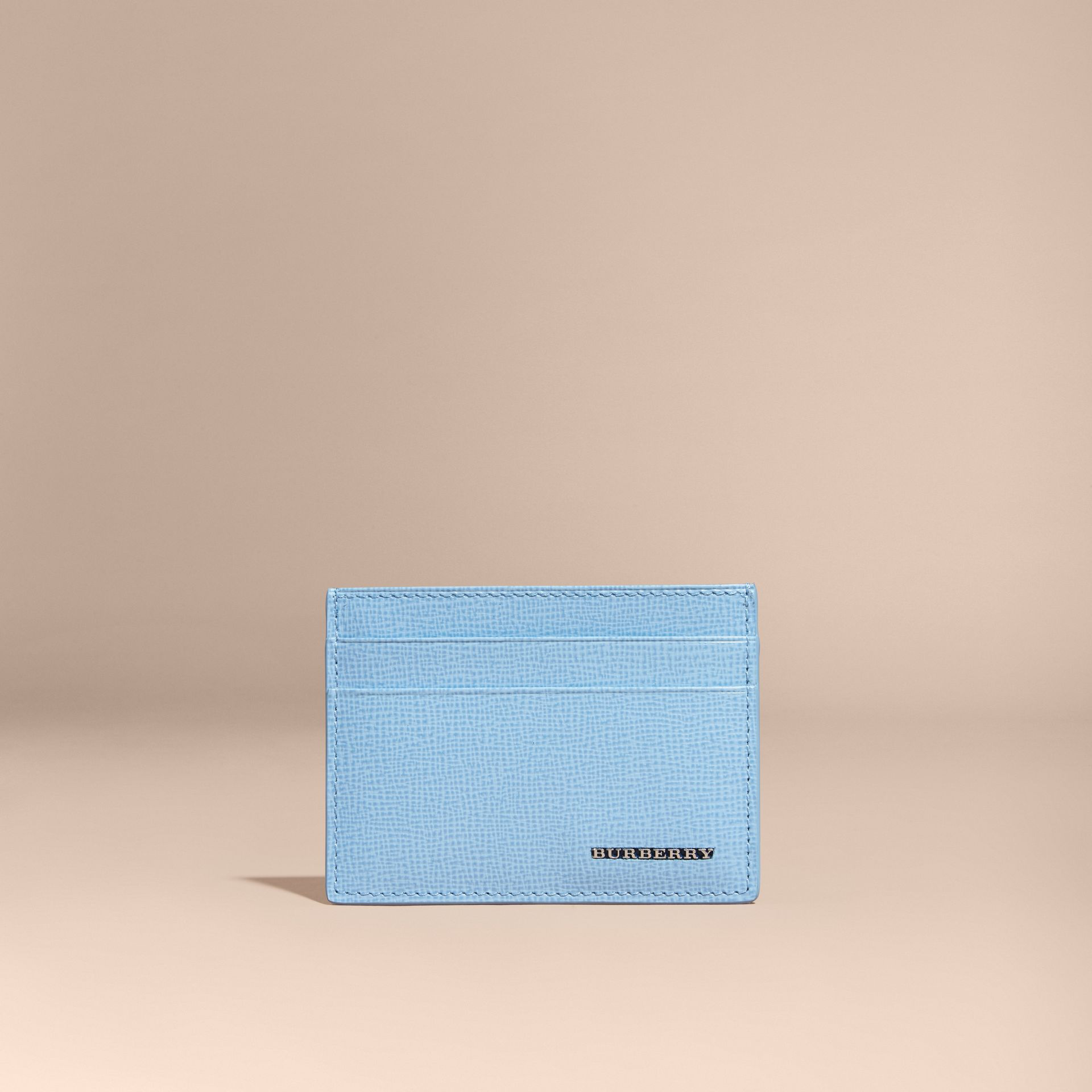 London Leather Card Case in Powder Blue - gallery image 6