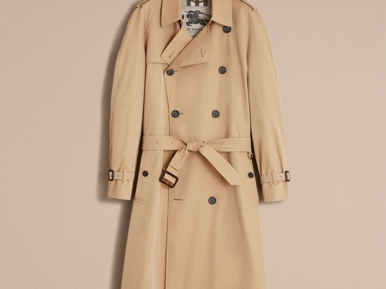 Miel Trench coat Westminster – Trench coat Heritage largo Miel - cell image 4